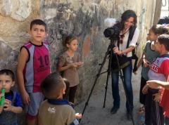 Working with Syrian refugee children in Irbid, Jordan