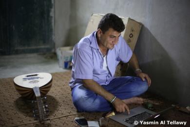 Raed Fares, Kafranbel, Idlib, Syria